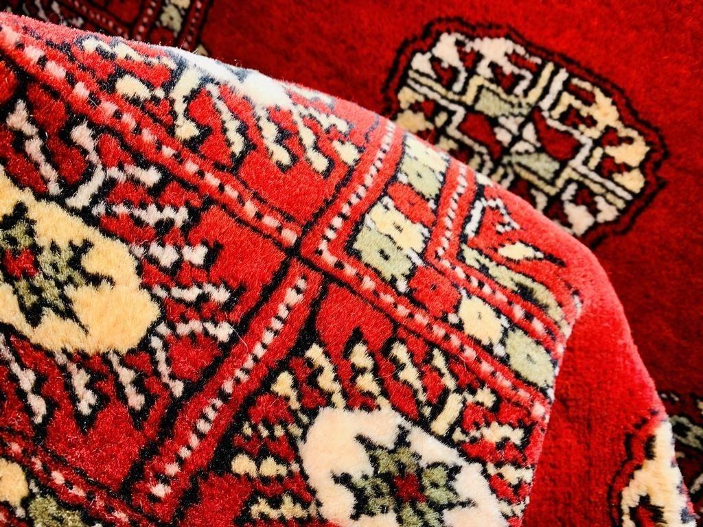 Chodnik Wełniany Pakistan Bokhara Red 81x305