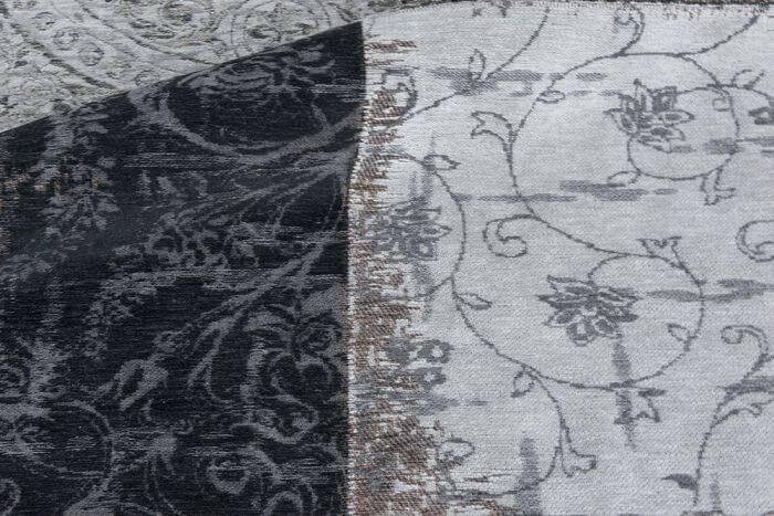 Dywan Louis de Poortere Vintage Patchwork Multi Black & White 8101