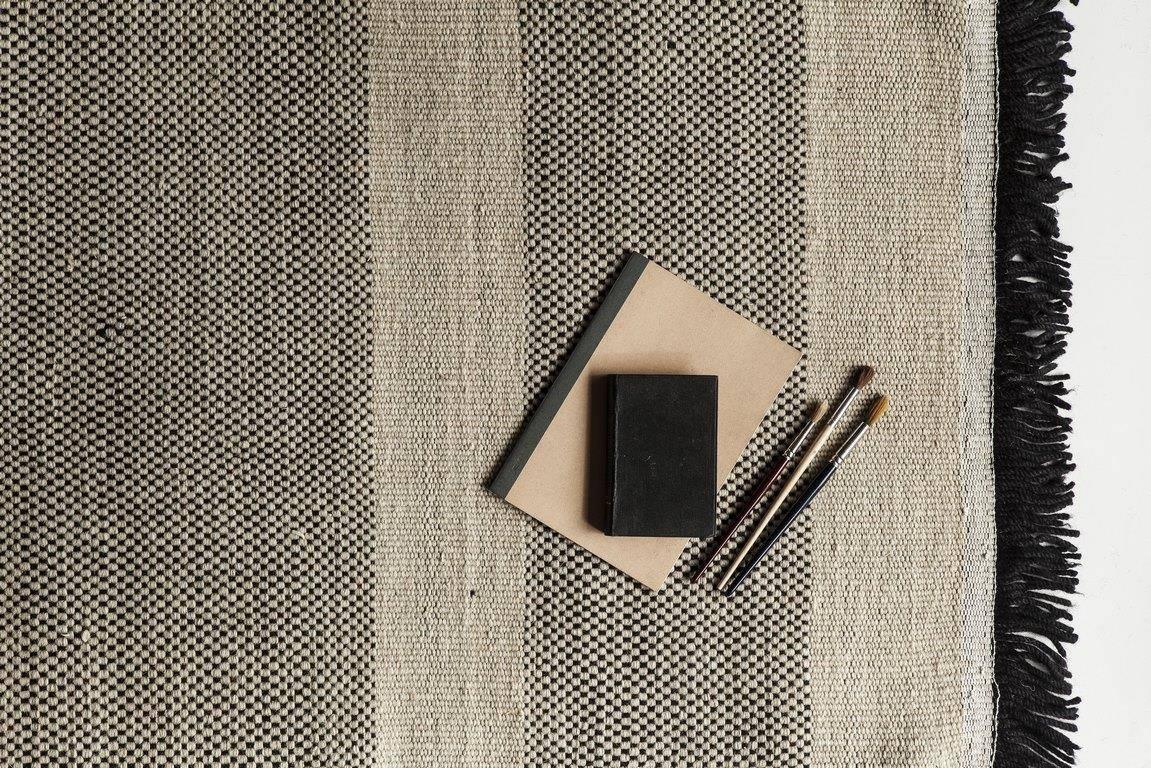 Dywan Nanimarquina Tres Stripes Black