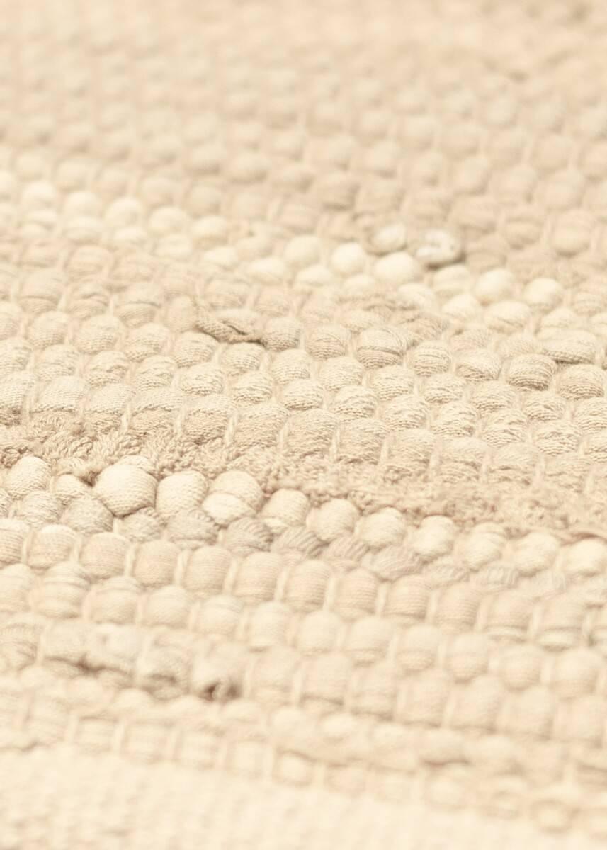 Dywan Rug Solid Cotton Rug Desert White