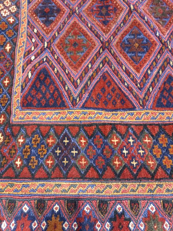 Dywan Wełniany Afghan Unique Mushwani 156 x 189
