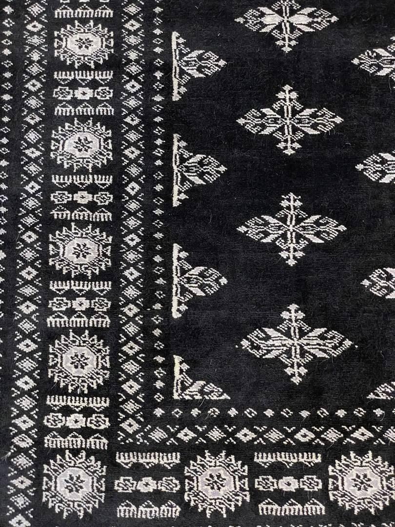 Dywan Wełniany Pakistan Bokhara Black 1382450 138 x 211