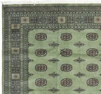 Dywan Wełniany Pakistan Bokhara Green 169 x 243